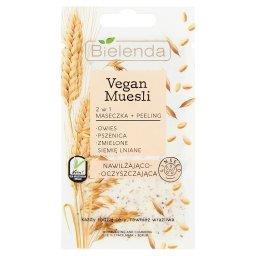 Vegan Muesli 2 w 1 Maseczka + Peeling nawilżająco-oczyszczająca