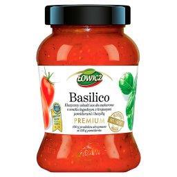 Premium Basillico Klasyczny włoski sos pomidorowy do makaronu o smaku łagodnym