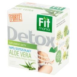 Detox Forte Suplement diety Napój oczyszczający Aloe vera 20 g (10 saszetek)