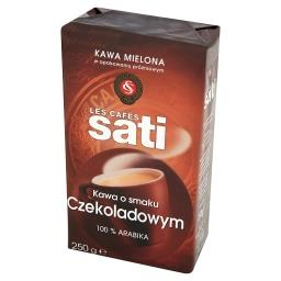 Kawa palona mielona o smaku czekoladowym