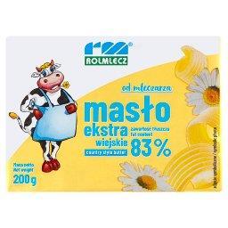 Masło ekstra wiejskie 200 g