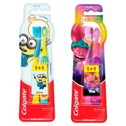 Smiles Kids Szczoteczka do zębów dla dzieci 3-5 lat ...