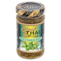 Pasta z tajskiej bazylii
