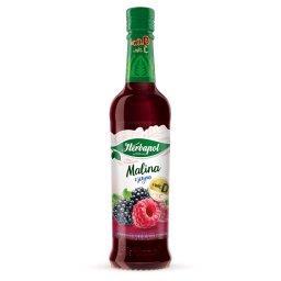 Syrop owocowy o smaku malinowo-jeżynowym
