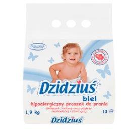 Hipoalergiczny proszek do prania biel  (13 prań)