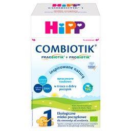 1 Combiotik Ekologiczne mleko początkowe dla niemowląt od urodzenia
