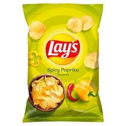 Chipsy ziemniaczane o smaku pikantnej papryki