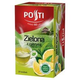 Zielona z cytryną Herbata aromatyzowana 36 g