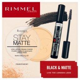 Black & Matte Zestaw kosmetyków dla kobiet