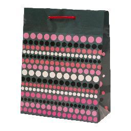 Tg-30 ozdobna papierowa torebka prezentowa duża, mix