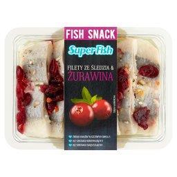 SuperFish Filety ze śledzia & żurawina 200 g