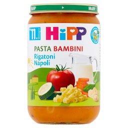 BIO Pasta Bambini Rigatoni Napoli po 11. miesiącu