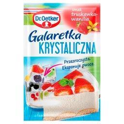 Galaretka krystaliczna smak truskawka-wanilia