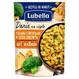 Danie na ciepło kolanka z brokułami w sosie serowym ...