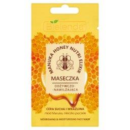 Manuka Honey Nutri Elixir Maseczka odżywczo-nawilżaj...