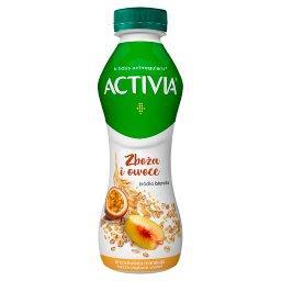 Jogurt brzoskwinia marakuja kasza jaglana owies