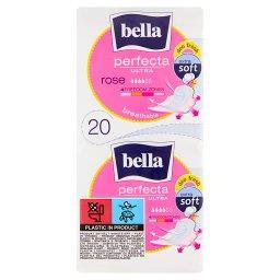 Perfecta Ultra Rose Extra Soft Podpaski higieniczne 20 sztuk