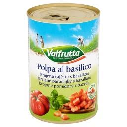 Krojone pomidory z bazylią