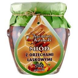 Miód z orzechami laskowymi 240 g