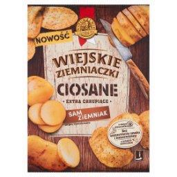 Ciosane Chipsy ziemniaczane grubo krojone solone