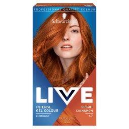 Live Farba do włosów Bright Cinnamon 7.7