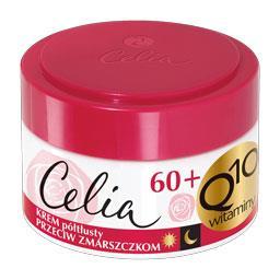 Celia Q10 przeciwzmarszczkowy krem półtłusty 60+ z c...