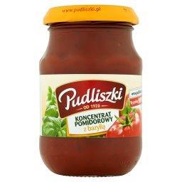 Koncentrat pomidorowy z bazylią