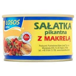 Sałatka pikantna z makrelą