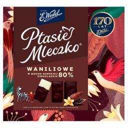 Ptasie Mleczko waniliowe w mocno gorzkiej czekoladzi...