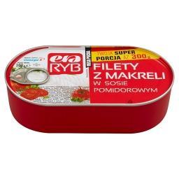 Filety z makreli w sosie pomidorowym 300 g