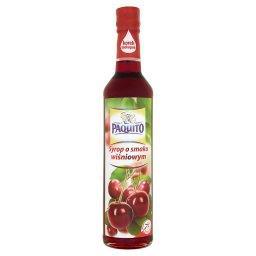 Syrop o smaku wiśniowym