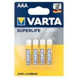Superlife AAA R03 1,5 V Bateria cynkowo-węglowa 4 sztuki