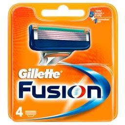 Fusion Ostrza wymienne do maszynki do golenia, 4 szt...