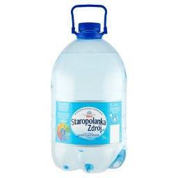 Zdrój Woda źródlana niskozmineralizowana lekko gazow...