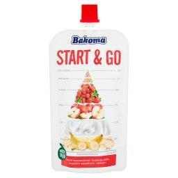 Start & Go Przecier owocowy banan-truskawka-jabłko