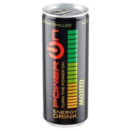 Gazowany napój energetyzujący o smaku limonki i mięt...