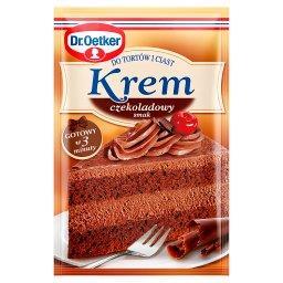 Krem do tortów i ciast smak czekoladowy