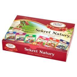 Sekret Natury Zestaw 6 herbat owocowych 60 g (30 tor...