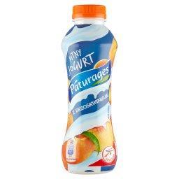 Jogurt pitny z brzoskwinią