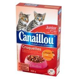 Croquettes Karma dla kociąt poniżej 1 roku życia z drobiem mlekiem i marchewką