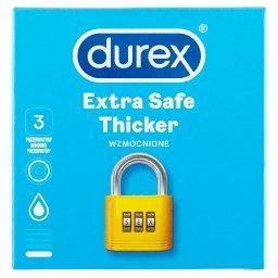 Extra Safe Thicker Prezerwatywy 3 sztuki