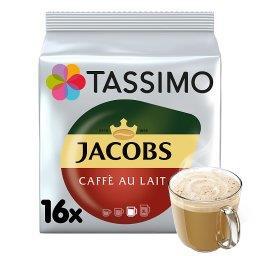 Jacobs Café au Lait Napój w proszku z kawą rozpuszczalną i mlekiem 184 g (16 kapsułek)