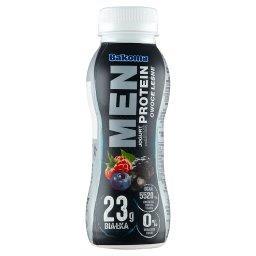 Men Jogurt z wysoką zawartością protein owoce leśne
