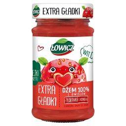 Dżem 100% z owoców extra gładki truskawka z acerolą ...
