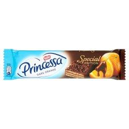 Dark Orange Wafel przekładany kremem o smaku pomarańczowym oblany czekoladą deserową