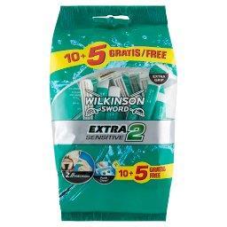 Extra2 Sensitive Jednorazowe maszynki do golenia 15 ...