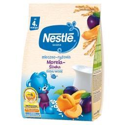 Kaszka mleczno-ryżowa morela-śliwka dla niemowląt po...