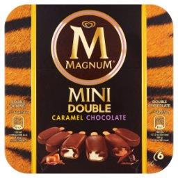 Mini Double Caramel Chocolate Lody  (6 sztuk)