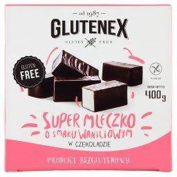 Super mleczko o smaku waniliowym w czekoladzie 400 g