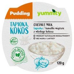 Bezglutenowy pudding z tapioką i kokosem